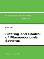 Filtering and Control of Macroeconomic Systems: A Control System Incorporating the Kalman Filter for the Indian Economy