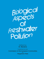 Biological Aspects of Freshwater Pollution