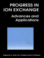 Progress in Ion Exchange
