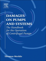 Damages on Pumps and Systems