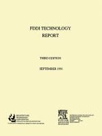 Fiber Distributed Data Interface [FDDI] Technology Report