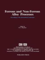 Ferrous and Non-Ferrous Alloy Processes: Proceedings of the International Symposium on Ferrous and Non-Ferrous Alloy Processes, Hamilton, Ontario, August 26-30, 1990