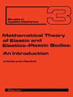 Mathematical Theory of Elastic and Elasto-Plastic Bodies