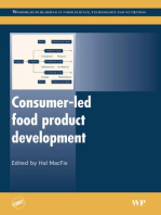 Consumer-Led Food Product Development