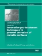 Innovative Pre-Treatment Techniques to Prevent Corrosion of Metallic Surfaces
