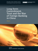 Long-Term Commitment, Trust and the Rise of Foreign Banking in China