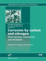 Corrosion by Carbon and Nitrogen: Metal Dusting, Carburisation and Nitridation