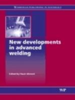New Developments in Advanced Welding