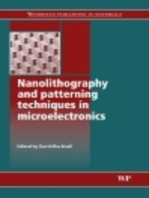 Nanolithography and Patterning Techniques in Microelectronics