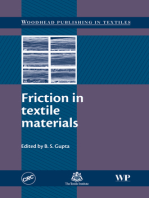 Friction in Textile Materials