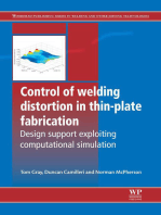 Control of Welding Distortion in Thin-Plate Fabrication: Design Support Exploiting Computational Simulation