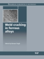 Weld Cracking in Ferrous Alloys