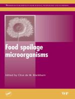 Food Spoilage Microorganisms