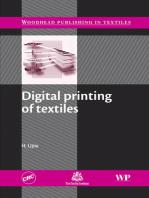 Digital Printing of Textiles