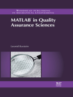 Matlab® in Quality Assurance Sciences