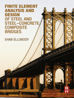 Finite Element Analysis and Design of Steel and Steel–Concrete Composite Bridges