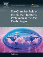 The Changing Role of the Human Resource Profession in the Asia Pacific Region