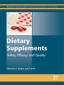 Dietary Supplements: Safety, Efficacy and Quality
