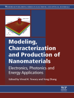 Modeling, Characterization and Production of Nanomaterials