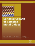 Epitaxial Growth of Complex Metal Oxides
