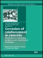 Corrosion of Reinforcement in Concrete: Monitoring, Prevention and Rehabilitation Techniques