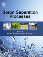 Boron Separation Processes