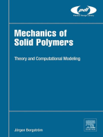 Mechanics of Solid Polymers: Theory and Computational Modeling