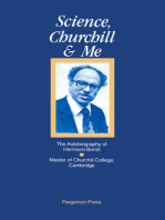 Science, Churchill and Me