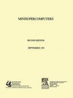 Minisupercomputers