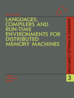 Languages, Compilers and Run-time Environments for Distributed Memory Machines