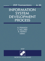 Information System Development Process: Proceedings of the IFIP WG8.1 Working Conference on Information System Development Process, Como, Italy, 1-3 September, 1993