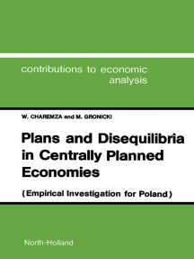 Plans and Disequilibria in Centrally Planned Economies: Empirical Investigations for Poland