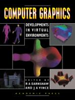 Computer Graphics: Developments in Virtual Environments