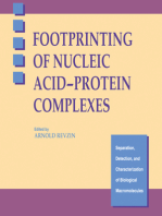 Footprinting of Nucleic Acid-Protein Complexes