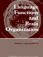 Language Functions and Brain Organization