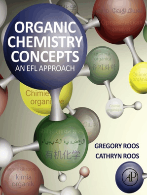 Organic Chemistry Concepts by Gregory Roos and Cathryn Roos - Book - Read  Online