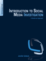 Introduction to Social Media Investigation: A Hands-on Approach