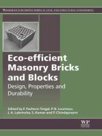 Eco-efficient Masonry Bricks and Blocks: Design, Properties and Durability