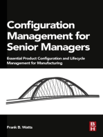 Configuration Management for Senior Managers: Essential Product Configuration and Lifecycle Management for Manufacturing