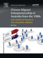 Chinese Migrant Entrepreneurship in Australia from the 1990s: Case Studies of Success in Sino-Australian Relations