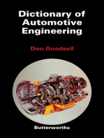 Dictionary of Automotive Engineering