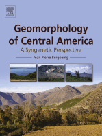 Geomorphology of Central America