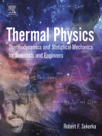 Thermal Physics: Thermodynamics and Statistical Mechanics for Scientists and Engineers