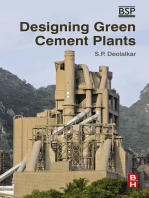 Designing Green Cement Plants
