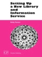 Setting Up a New Library and Information Service
