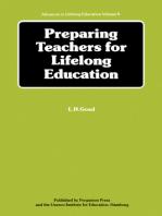 Preparing Teachers for Lifelong Education