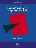 Subalternidad y representación