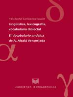 Lingüística, lexicografía, vocabulario dialectal