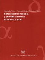 Historiografía lingüística y gramática histórica