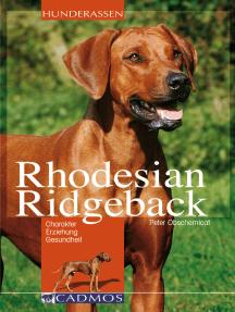 Rhodesian Ridgeback: Charakter, Erziehung, Gesundheit